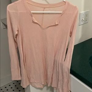 pink hollister tee shirt